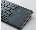 Elecom совместила клавиатуру и тачпад.